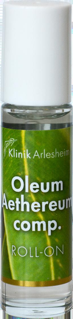 Eine Flasche Äthereum Oleum Roll-On