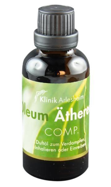 Eine Flasche Äthereum Oleum Duftöl zum Verdampfen, Inhalieren oder Einreiben