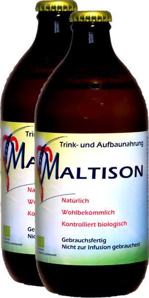 Eine Flasche Maltison Classic